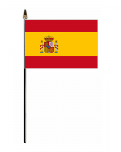 Spain Country Hand Flag - Small.